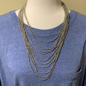 Unbranded silver color necklace